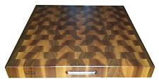 Black Walnut Butcher Block Cutting Board NEW end grain