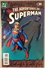 Comic The Adventures Of Superman #8 Annual 96 DC 1996 Legends Of The Dead Earth