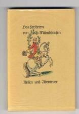 Deutsche Literatur Aufklärung Baron Münchhausen illustriert von Fritz Kredel