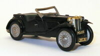 Creaks of Camberley 1/43 Scale Model Car PC4 - MG Police Car - Black