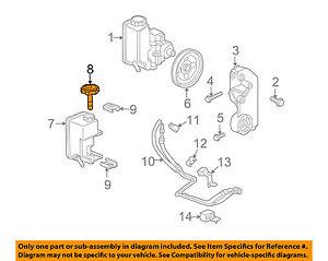 Hummer GM OEM 06-10 H3 Power Steering Pump-Reservoir Tank Cap 15132766