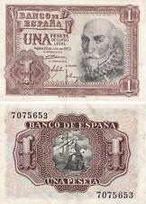L190 HP023 BILLETE ESPAÑA 1 PESETA 1953 SIN SERIE EBC+