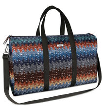 NEW MISSONI MULTI COLOR LARGE WEEKENDER TRAVEL GYM BAG WITH DUST BAG