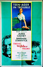 482 These Wilder Years, original 1956 Movie Poster, James Cagney, 1