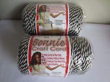 Lot of 2 Rolls of Smokey Forest 6mm Bonnie Braid Braided Macrame Craft Cord