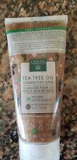 Earth Therapeutics Tea tree oil cooling foot scrub 6 oz