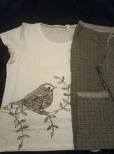Designer Next ladies lovely spring pyjamas sealed packet 2pc set uk 12  bnwt ❤