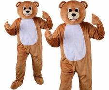 Adulte Amusant Ours en Peluche Big Head Costume Mascotte Déguisement Animal