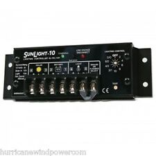 Morningstar Sl 10l 12v Sunlight 10 Amp 12 Volt Solar Charge Controller Withlvd