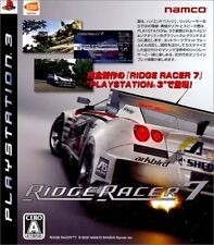 USED ​​PS3 Ridge Racer 7 Japan import