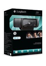 Logitech C920 Pro HD Webcam, Videos mit 1080p 15 Megapixel skype Mikrofon NEU