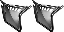 Pro Armor Black Doors Metal Panel Cut Outs Polaris RZRS RZR 800 XP900 RZR900XP