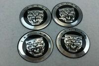 4Pcs 65mm Car Wheel Center Hub Caps Covers Emblems Stickers For Jaguar