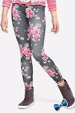 Justice Girls Size 18 Plus Floral Lattice Leggings New with Tag