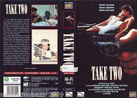 TAKE TWO (1988) VHS ORIGINALE 1ª EDIZIONE 1994 INEDITA IN HOME VIDEO