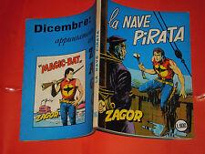 ZAGOR ZENITH- ORIGINALE- N°116 -a- LIRE 200- (ZAGOR gigante N°65)-DEL 1970- raro