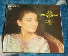 MARIA CALLAS ITALIAN AND FRENCH ARIES GERMAN 2LP ELECTROLA C 187-01 398/99