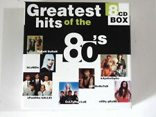 CD GREATEST HITS OF THE 80'S Disky 1999 Electronic, Rock, Pop Album 144 Tracks E