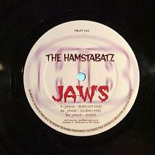 "The Hamstabatz – Jaws VGs Not On Label HBAT001 VINYL 12"" UK GARAGE"
