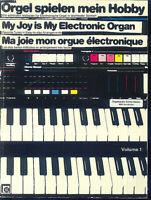 Orgel spielen mein Hobby, Volume 1