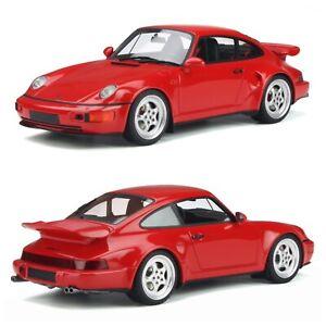 1/18 GT Spirit Porsche 911 (964) Turbo S Flachbau 1994 Red Livraison domicile