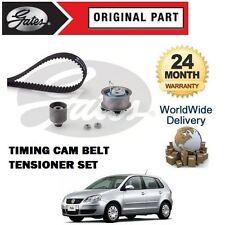 FOR VOLKSWAGEN VW POLO 1.4 TDI 6v 2001-2009 GATES TIMING CAM BELT TENSIONER KIT