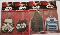 Offical Star Wars Car Air Freshners Great Freshnerers that can be used anywhere