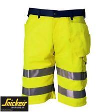 "Snickers 5133 Hi Viz Shorts 36"" Waist EU Size 52 Brand New"
