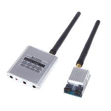 Hot 5.8Ghz FPV Video A/V TX RX 200mW 2.0Km 5.8G Transmitter + RC805 8CH Receiver