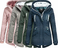 Stitch & Soul Damen Softshell Jacke Herbst Winter übergangsjacke A43323A Lang