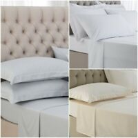 400 THREAD COUNT FLAT SHEET TOP HOTEL QUALITY 100% EGYPTIAN COTTON  BED SHEETS