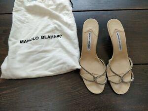 Manolo Blahnik Kitten Heels Size 4