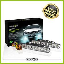 LED Tagfahrlicht mit E-Prüfzeichen und Blinkfunktion DayLight TFL DLR 12V 24V
