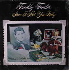 """FREDDY FENDER """"Since I Met You Baby"""" NEW FACTORY SEALED 1975 GRT LP"""