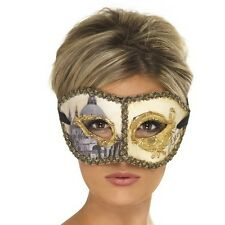 Masquerade Ball Fancy Dress Eye Mask Party Prom Venetian Venice by Smiffys