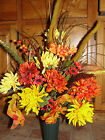 Grave Cemetery Tombstone Urn Vase for Headstone Fall Thanksgiving Arrangements
