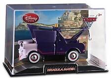Disney Store Pixar Cars 2 Dracula Mater Die Cast Car In Collector's Case