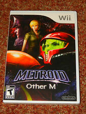 METROID OTHER M Wii GAME NINTENDO US VERSION BRAND NEW SEALED