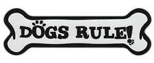 Dog Bone Shaped Car Magnets: DOGS RULE!