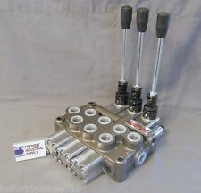 Hydraulic manual directional control valve 3 spool 12 GPM Built to your specs