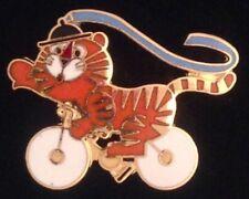 Cycling Olympic Pin Badge~1988~Mascot:Hodori~NEW! Still in 25 yr old packaging!!