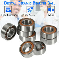 10Pcs 6mm Dental Ceramic Bearing Ball Fit For High Speed Handpiece Hot
