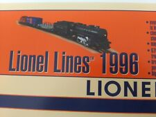 Vintage Lionel Trains Advertising lionel lines 1996 Wall sign Art