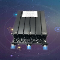 New UHF 6 CAVITY DUPLEXER for radio repeater N connector UHF Duplexer