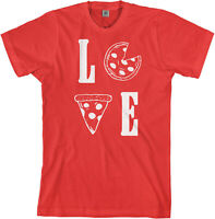 Love Pizza Men's T-Shirt Funny Pizza Lover Gift