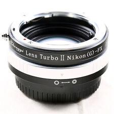 Zhongyi Focal Reducer Booster Lens Turbo II Nikon F AI to Fujifilm X FX Adapter