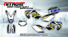 HUSABERG Graphics Kit Decals Design Stickers FE 450 550 650 2006 2007 2008 MX