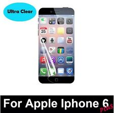 5 x ULTRA CLEAR INVISIBLE SCREEN GUARD PROTECTORS FOR APPLE IPHONE 6 PLUS 5.5