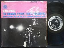 MILES DAVIS The Original Quintet LP PRESTIGE PRLP 7254 US 1963 RVG John Coltrane