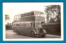 Bus Photo ~ Widnes Corporation 21: NTE581: 1952 all-Leyland 56-seat Titan PD2/12